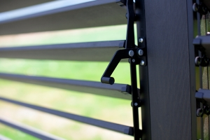 Adjustable Louver Privacy Panels