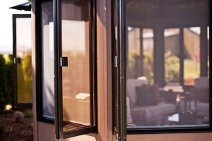 Aluminum Bi-fold Windows