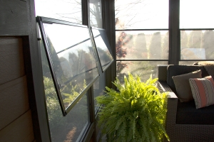 Extra-large Hinged Vinyl Windows
