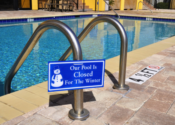 Closing The Swimming Pool For The Winter Haven Pool Spa