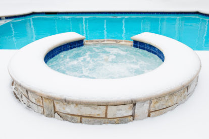 Stay Safe When Using Your Spa or Hot Tub in the Winter