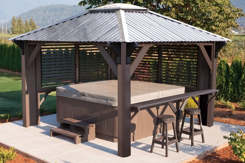 Taking care of your wooden Gazebo