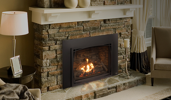 Pacific Energy The Tofino I40s Gas Fireplace Insert