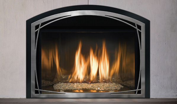 Mendota The FullView Modern Gas Fireplace Inserts