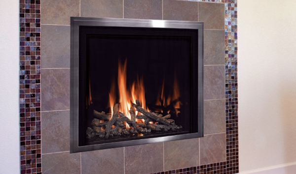 Mendota FullView Modern Fireplace