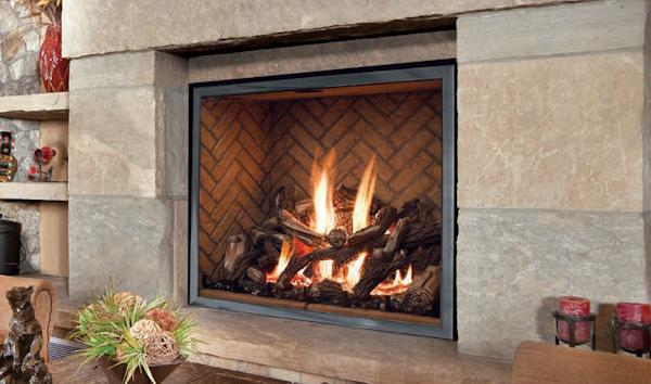 Mendota FullView Fireplace