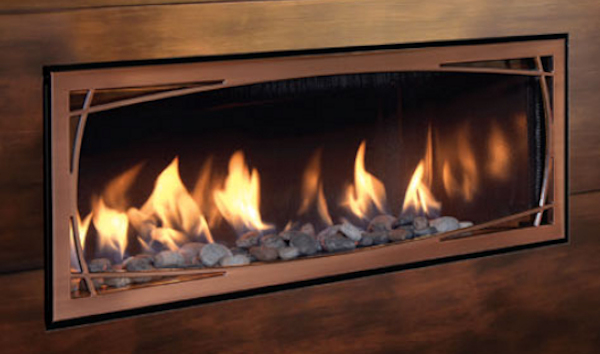 Mendota The FullView Modern Lineal Fireplace