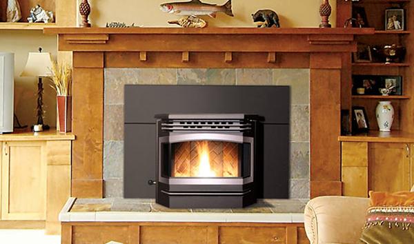 Enviro The Meridian Pellet Fireplace Insert