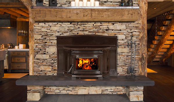 Pacific Energy The Alderlea T5 Classic LE Wood Fireplace Insert