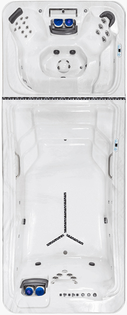TidalFit Swim Spa Dual Temp