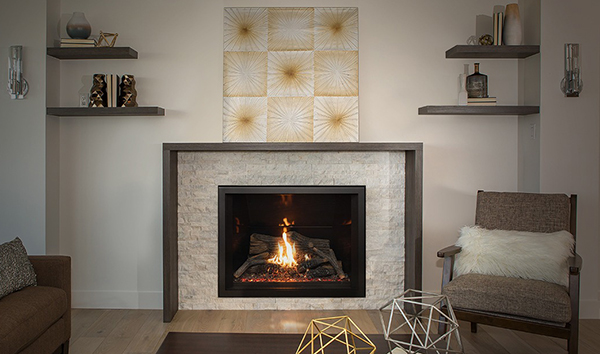 Pacific Energy The Tofino Z35 Gas Fireplace Insert