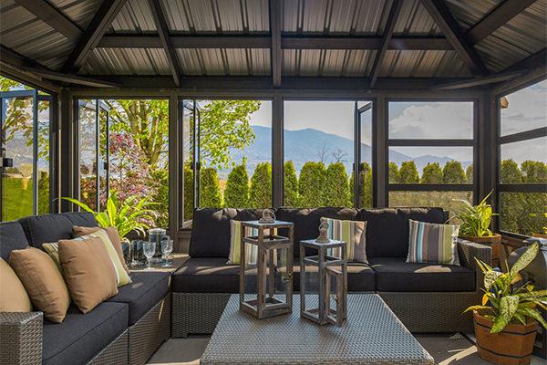 Resort Fully Enclosed Gazebo