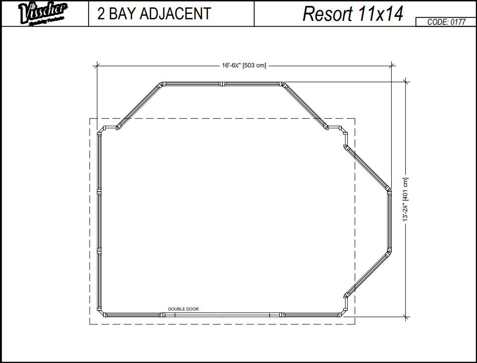 Resort Footprint 2 bay