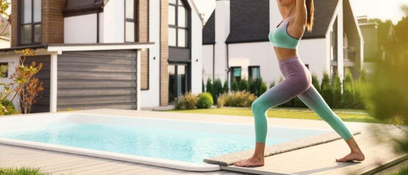 Great Workouts To Do in Your Above-Ground Pool